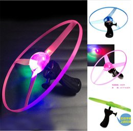 Wholesale Plastic Bamboo Dragonfly - popular LED flying toys kids toys outdoor flying toys with light Bamboo dragonfly children educational toy