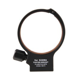 Wholesale Tripod Collars - Wholesale- Black 71mm Metal Tripod Collar Mount Ring for SIGMA APO 70-200mm F2.8 II EX DG