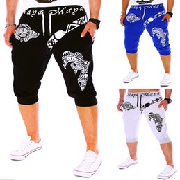 Wholesale Restore Acrylic - Wholesale-Foreign Trade Hot Style Men's Cargo Pants Bird Printing Design Restoring Ancient Ways of Leisure Pants 1501 - DK10-35