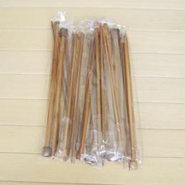 agulhas de bambu tricô Desconto 18pairs / set 14