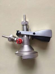Wholesale metal beer kegs - A system keg coupler,keg head with pressure relief valve for beer dispenser,beer keg accessories.
