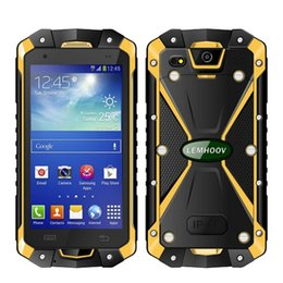 Wholesale Gps Quadcore - Original L15 Smartphone 1GBRAM 8GBROM 4.5Inch IP68 Waterproof Mobliephone Android Smartphone MTK6582 QuadCore GPS Dual SIM Smartphone Newest