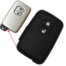 Wholesale Toyota Camry Remote Cover - Toyota Yaris Avensis Land Cruiser Camry Highlander Crown Prado Prius Vitz Aqua Silicone Remote Key Cover Case Fob Shell