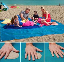 Wholesale Car Blankets - 1pcs Hot Sale Sand Free Mattress Summer Beach Mat 200cm x 150cm Waterproof Outdoor Camping Picnic Pad picnic blankets