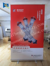 """Wholesale Banner Pull Up - 31.2""""*78""""roll up display stand  roll up banner stand with fabric printing  retractable banner stand  High quality pull up"""