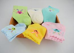 Wholesale Socks Cartoon Women - Baby Socks Unisex Baby Soft Cotton Long Rabbit Cute Cartoon Socks for 0-3 years old baby socks YD-B-003