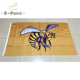 Wholesale Alabama State - NCAA Alabama State Hornets and Lady Hornets polyester Flag 3ft*5ft (150cm*90cm) Flag Banner decoration flying home & garden gifts