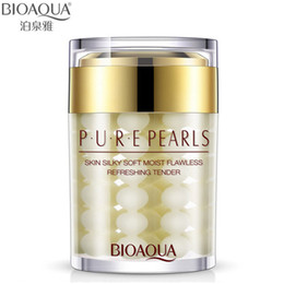 Wholesale high quality Pure Pearl Cream Hyaluronic Acid Deep Moisturizing Essence Cream Face Care g