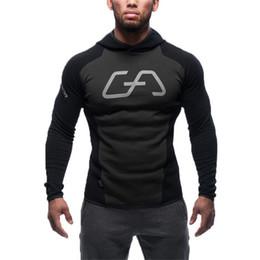 Wholesale European Clothing Men Jacket - Wholesale-European Brand Clothing 2016 Men Hoodies Cotton Sweatshirt Male Tracksuit Hooded Jacket Patchwork Male Hoody Jackets Hoodies