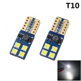Wholesale Car Top Led Lights - Car Light T10 W5W Canbus LED BulbT10 2835 8 SMD Top Quality High Power White Blue LED Lamp Personalized Car clearance light