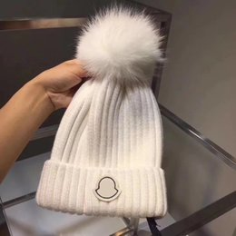 Wholesale Cowboy Hat Fit - Winter new style women warm hat European brand hats high quality cashmere designer hat new packaging