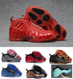 Wholesale Clear Penny - 2017 New Basketball Shoes Air Hologram Penny Hardaway Men And Women Tech Fleece Island Green Metallic Gold Metallic Red sneakers With Box