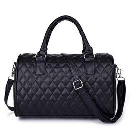 Wholesale Celebrity Brand Handbags - Wholesale- Super Deal Celebrity brand Women PU Leather Handbag Tote Shoulder Bags Famous Designers Brand handbags Large Capacity Bags Sac