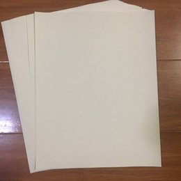 Wholesale Linen Postcards - 50 sheets security paper 75% cotton 25% linen pass counterfeit pen test paper high quality hot sale ivory color paper in US