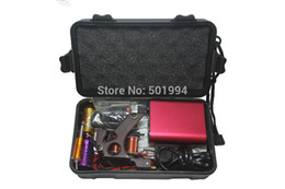 2019 großhandel make-up für billig Großhandel - Tattoo Kit Professional mit bester Qualität Permanent Make-up-Maschine für Tattoo Equipment Günstige Red Tattoo Machines rabatt großhandel make-up für billig