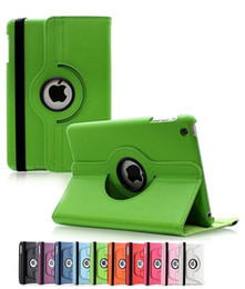 Wholesale High Quality Back Cover Ipad - Hot 360 Degrees Rotating Stand Leather Case for Ipad Air 2 3 4 Mini 1 2 3,Luxury High Quality Smart PU Back Cover for Ipad Pro 9.7 12.9 inch