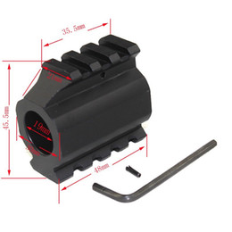 Barril de gas online-Low Profile Picatinny Rails Gas Block Barrel Mount 0.75 ""