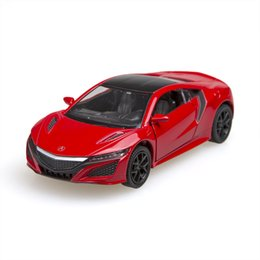 Wholesale Race Collection - Kinsmart 2016 Acura NSX Sport Car 1 36 alloy Metal Racing Vehicle Diecast Metal Pull Back Car Sport Cars Toy For Gift Collection