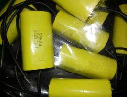 Audio-kondensatoren online-lNeue und original 2 STÜCKE CBB20 106 J 630 V Blei Audio Kondensator 10UF 630 V 45 * 18,5 * 26
