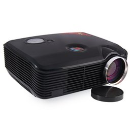 Wholesale Flip Usb - Wholesale- STA-ProHome PH5 2500 Lumens LED Projector 360 Degree Flip with HDMI USB Inputs US Plug Support HD 1080P for Business Conference