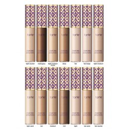 Wholesale Wholesale Primer For Make Up - Tarte Concealer concealer makeup Primer Cream Concealer Cream Base Make up Cover for all skin 12 colors DHL