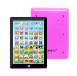 Wholesale English Cartoon For Children - Hot New Free Shipping DHL ypad Y-pad Table Learning Machine English Computer for Kids Children Educational Toys Music
