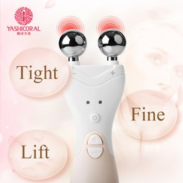 Wholesale Electrical Dryer - EMS Face Lifting Tool Firming Facial Skin Electrical High Frequency Ion Introduction Rejuvenation Home Skin Care Massager Beauty Device