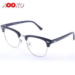 Wholesale Club Computer - Men Women Club Optical Glasses Master Frame Designer Eyeglasses Master Reading Glasses Prescription Computer Eyewear