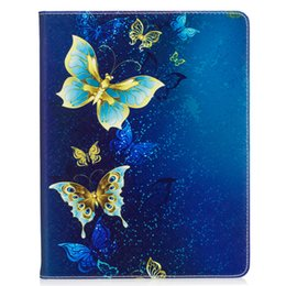 Wholesale Back Cover For Ipad - Cartoon Patterned Flip Case for iPad 2 3 4 TPU Back Cover for iPad 4 Stand Flip Holster With Card Pocket