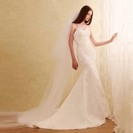 Wholesale Tulle Sparkle Organza Strapless Gown - Vintage Sleeveless Empire Wedding Dresses 2016 Portrait Mermaid Wedding Dresses With Overskirts Lace Ruched Sparkle Bridal Gowns Dubai