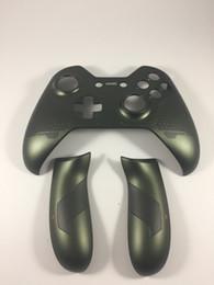 Зеленые дома онлайн-Зеленый Halo 5 Guardians Limited Edition Корпус Корпус верхней крышки корпуса передней лицевой панели для Xbox One Замена