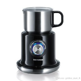 Wholesale Coffee Maker Milk Frother - Automatic Coffee Milk Cream Maker Temperature can control Electric milk bubble machine for household office Milk Frother