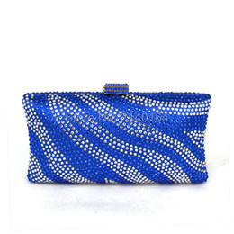 Wholesale Evening Bags Stones - Wholesale- Luxury Diamond Bags Small Stone Clutches Women Evening Bag Chain Lady Party Purse And Handbags Colorful Wedding Clutch T06