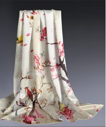 Wholesale Hangzhou Scarf - Hangzhou silk scarf Ms. long section of the spring and autumn and winter in the autumn of 2017 NEW