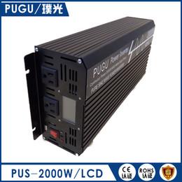 Wholesale Pure Sine Inverter 48v - Off Grid Inverter 2000 watts Car Inverter 4000w 12v 24v 48v Pure Sine Wave Inverter