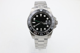Wholesale Luxury Ii Perpetual - aaa 2016 new Luxury Perpetual II 116710 LN Ceramic Bezel Automatic High Quality Wrist Mens Mechanical Sport Men's Watches