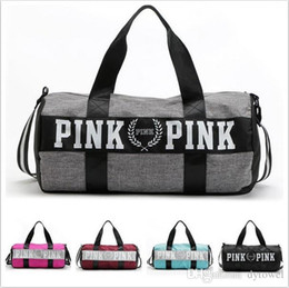 Wholesale American Girl Travel - 2016 New Fashion PINK Storage Bag organizer Travel Bag Waterproof Casual Beach Exercise Women Bag Free Shipping
