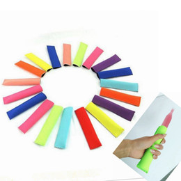 Wholesale Cone Bags - Neoprene Popsicle Sleeves Ice Lolly Bag Summer Ice Sleeves Freezers Popsicle Holders Summer Kitchen Tools OOA1989