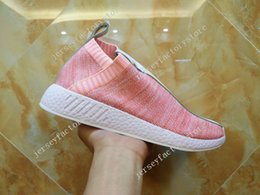 Wholesale Mens Casual Shoes Boots - Dropshipping Accepted Women and mens x Naked x Kith NMD PK CS2 Casual Sports Shoes ,Ronnie Fieg Running shoes,Fashion Sneakers Boots 36-45