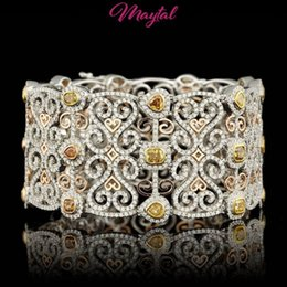 Wholesale Charity Bracelets - MAYTAL JEWELRY 18K GOLD 15CT DIAMOND BRACELET $145000 CERTIFIED ONE OF A KIND Listed for charity
