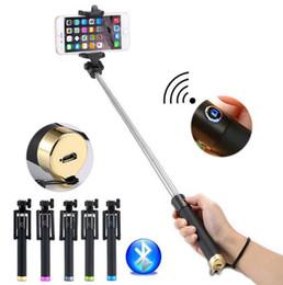 Tout-en-un Bluetooth Selfie Stick Monopode sans fil Selfie pour iPhone 6 6 s Plus 5 s IOS Android Para Selfie Pour Samsung ? partir de fabricateur
