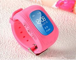Wholesale Gps Locate - New Q50 Smart WatchChild GPS Tracker Bluetooth Smart Watch Q50 Wristwatch Smartwatch Remote Monitor Double Locate SOS Kids Electronic Fence