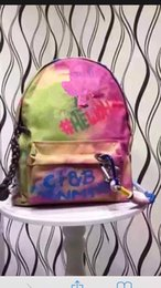 Wholesale colorful canvas backpacks - 2017 NEW colorful backpack canvas bag backpack