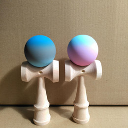 Wholesale Toy Sword Rubber - Japanese Traditional Wood Game Toy high-quality children's ball skills Queen sword ball skills ball Kendama rubber draw a line educational
