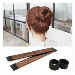 2019 porte-queue de cheval de mariage Nouvelles femmes mode outils de coiffure cheveux perruque de bricolage accessoires cheveux Bun Updo plier emballage Snap styling outil livraison gratuite