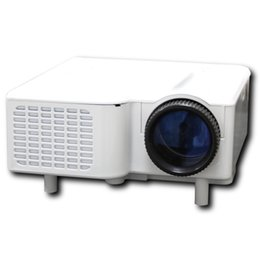 "Wholesale Hdmi 18 - Wholesale-2016 Free shipping LED Projector Mini LED Projector Portable Proyector support HDMI VGA AV USB SD Speaker 18''-60"" Display"