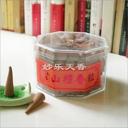 Wholesale Pure Sandalwood - Wholesale- Pure sandalwood incense cone, natural environment-friendly raw materials, rich flavor,Contains about 100 cones