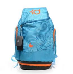 Wholesale Paisley Basketball - KD basketball backpacks for men fashion men training designer backpack sport fitness laptop backpack men free shipping