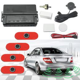 Wholesale Parking Alarm - Auto Original Style 4PCS Sensors Car Reverse Backup Beep Alarm Radar Parking Sensor #1357