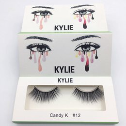 Wholesale Free Model - 2017new kylie False Eyelashes 20 model Eyelash Extensions handmade Fake Lashes Voluminous Fake Eyelashes For Eye Lashes Makeup Free shipping